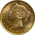 1882H-2-00-Gold-Newfoundland-obverse